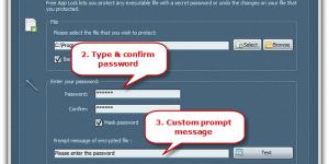 Encrypt Programs