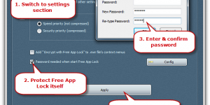 Password-Protect Free App Lock